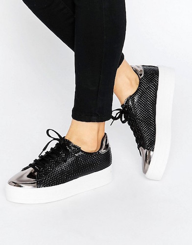 ASOS DEFINITELY Lace Up Sneakers