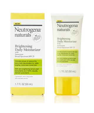 Neutrogena Natural Daily Moisturizer with Sunscreen