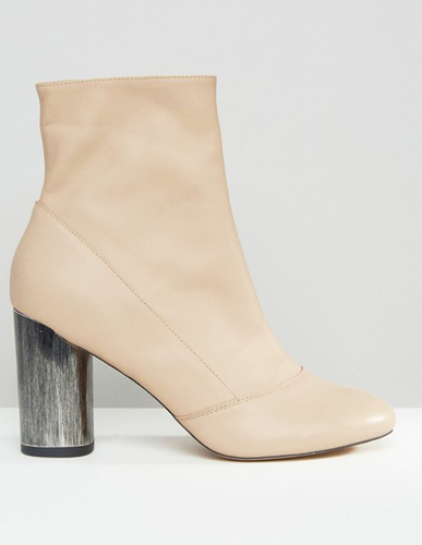 ASOS ELIXIR Leather Sock Boots