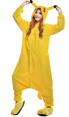 Pikachu Halloween costume onesie