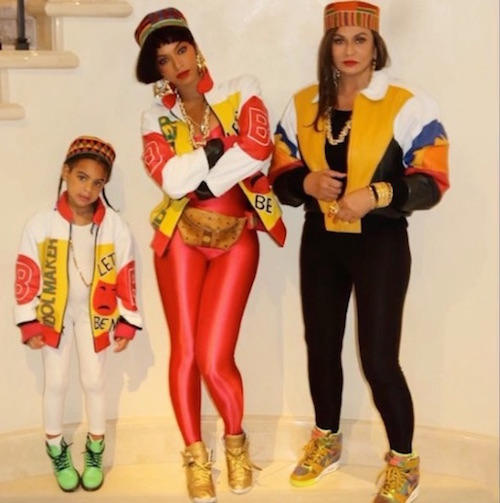 Beyonce Salt N Pepa Halloween costume