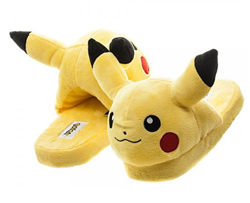 Pikachu Halloween costume slippers
