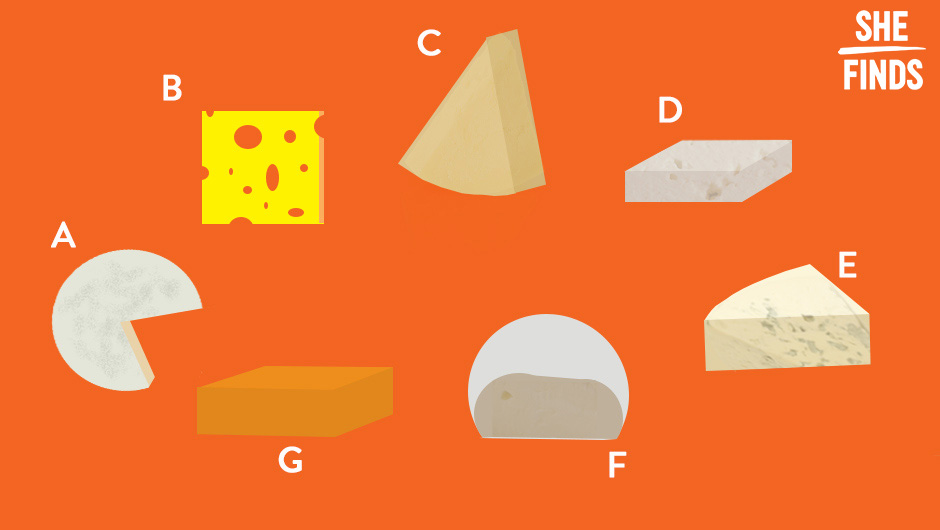 Cheese Shefinds Logo white Find Out What Your Favorite Type Of Cheese Says About You
