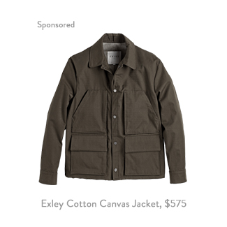 Exley Cotton Canvas Service Jacket