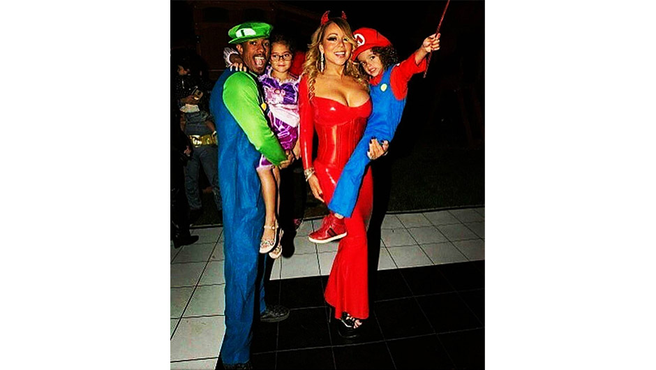 Mariah Carey Nick Cannon Halloween