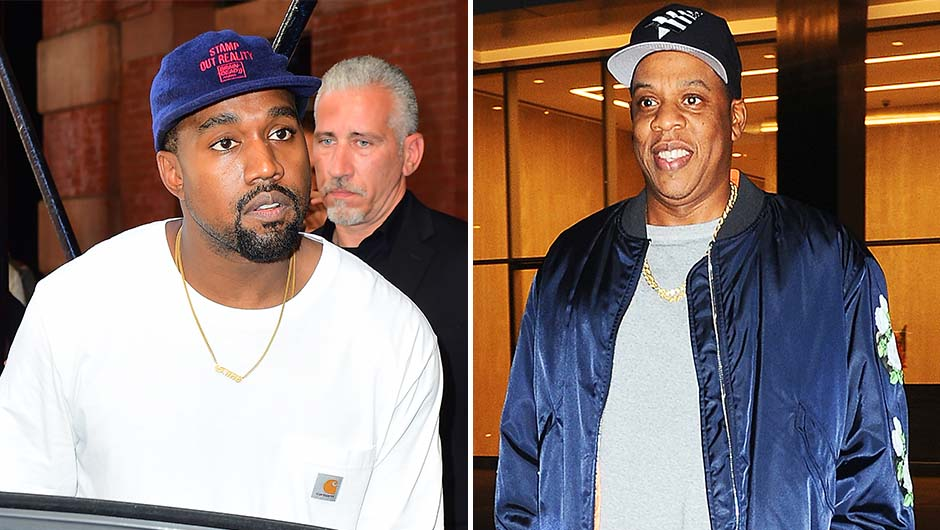 Kanye West And Jay Z Feud