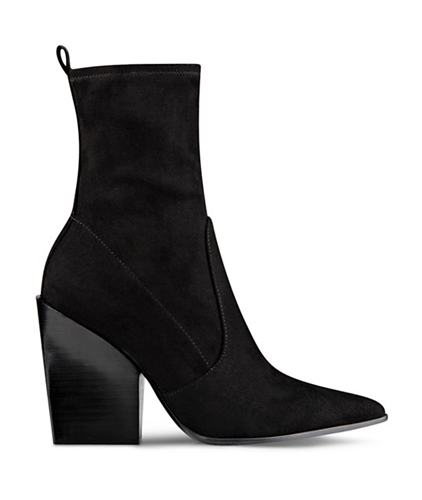 KENDALL and KYLIE Felicia Pointed Toe Block Heel Booties