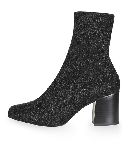 MARTHA Glitter Sock Boots