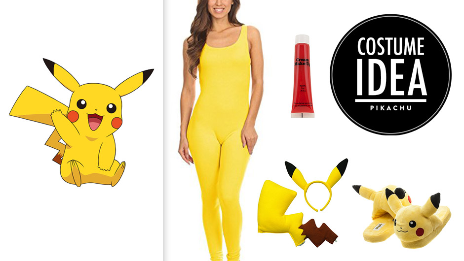 ... the *many* people who became obsessed with Pokémon Go this year (or maybe youu0027re just a fan of the original Game Boy game?) a Pikachu Halloween costume ...  sc 1 st  SHEfinds & Pikachu Halloween Costume For Girls