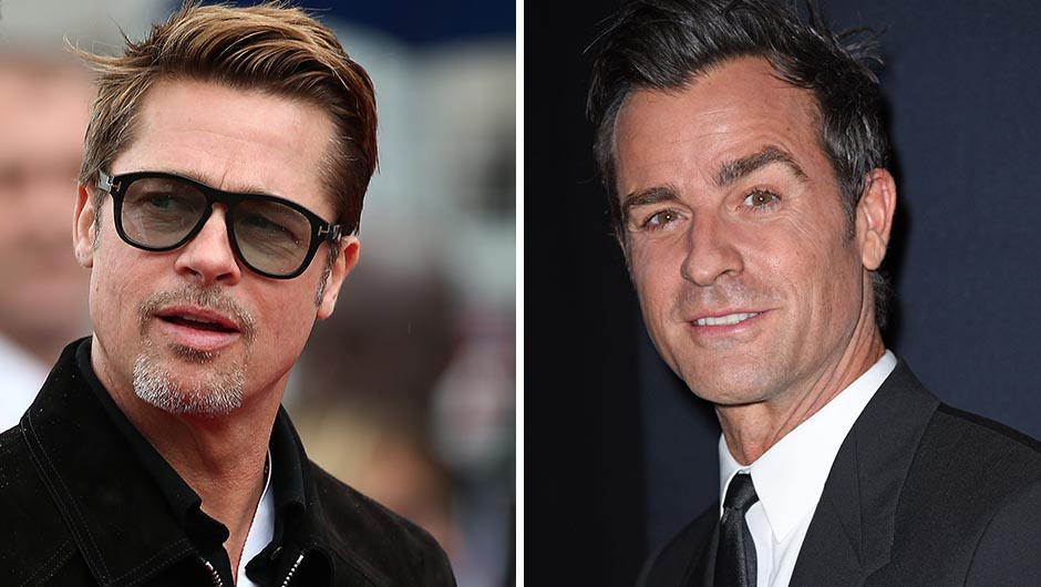 Justin Theroux And Brad Pitt Feud