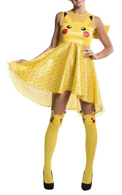 Pikachu Halloween costume dress