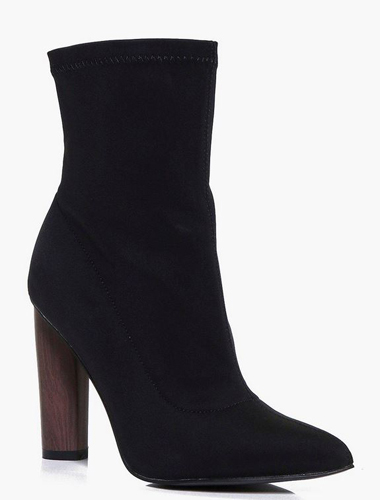 Ruby Stretch Sock Boot