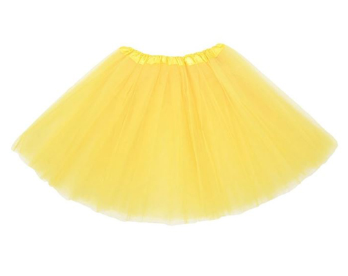 yellow tutu for Pikachu Halloween costume