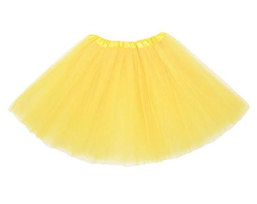 yellow tutu for Pikachu Halloween costume