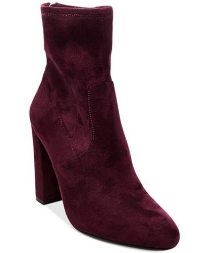 Steve Madden Brisk Block-Heel Sock Booties