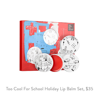 Too Cool For School Dinoplatz Holiday Lip Balm Set