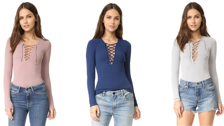 3d02cd1b9e5b Get This Amazing Free People Lace-Up Top For Just  13 At Shopbop Right Now!  (Plus More Can t-Miss Deals!)