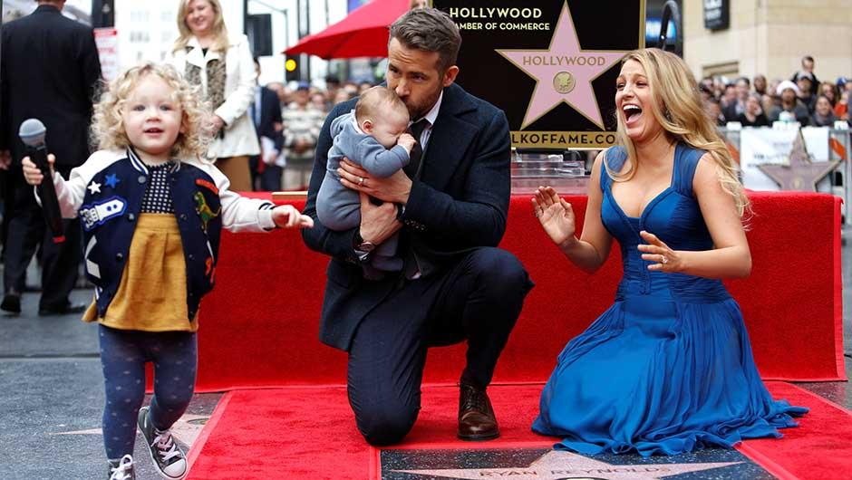 Ryan Reynolds Blake Lively kids