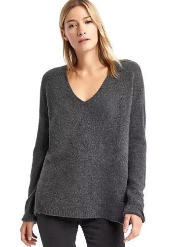 Buy V-neck cozy sweater