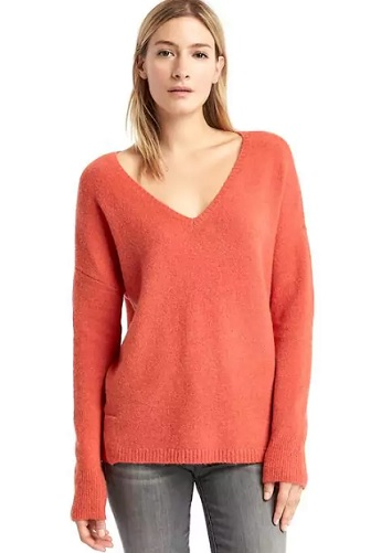 Gap cozy v neck sweater