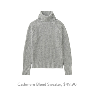 Uniqlo Cashmere Blend Sweater