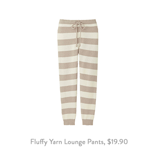 Uniqlo Fluffy Yarn Lounge Pants