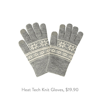 Heat Tech Knit Gloves