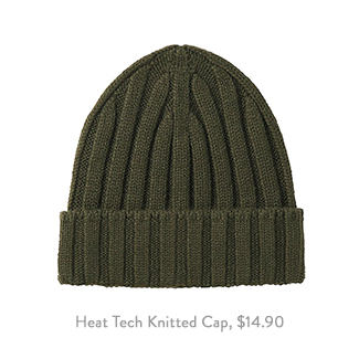 Uniqlo Heat Tech Knitted Cap