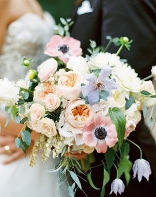 wedding flower trends 2017