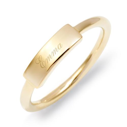 Thin Bar Ring