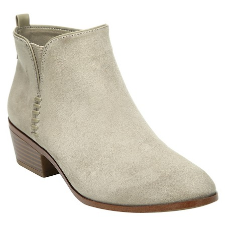 Sam Libby flat ankle booties