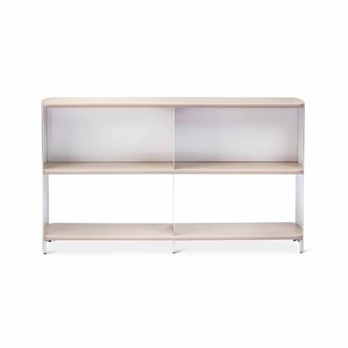 Bookshelf Wide White/Natural