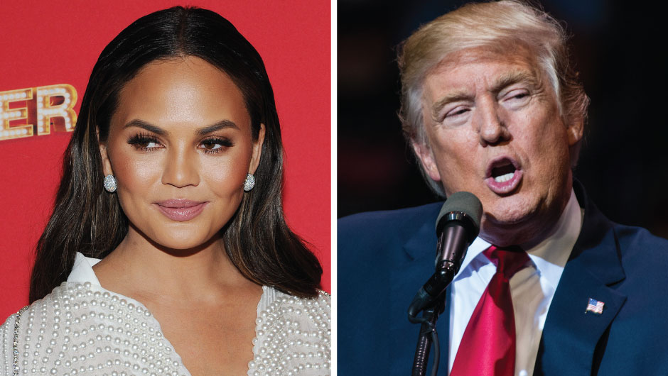 Donald Trump And Chrissy Teigen's Twitter Feuds