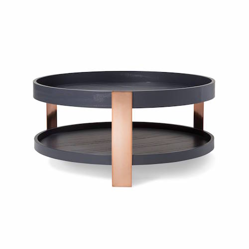 Coffee Table Black/Copper