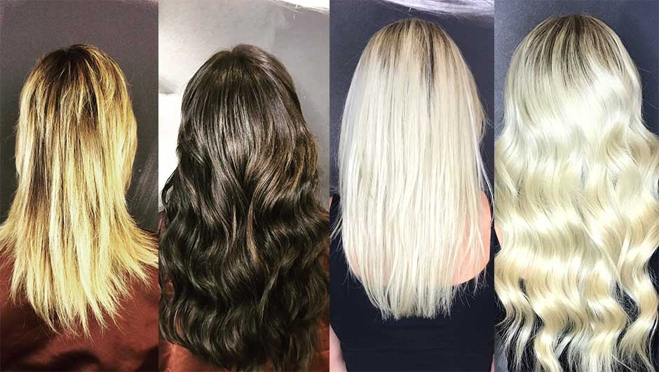 Amazing Hair Extension Before And Afters