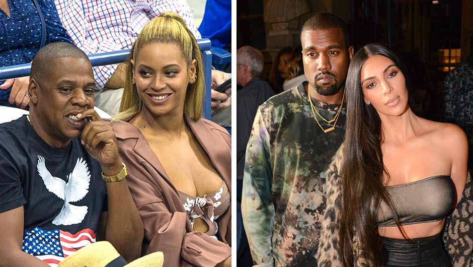 Beyonce And Jay Z Are With Kim Kardashian And Her Troubled Rapper Hubby, Kanye West