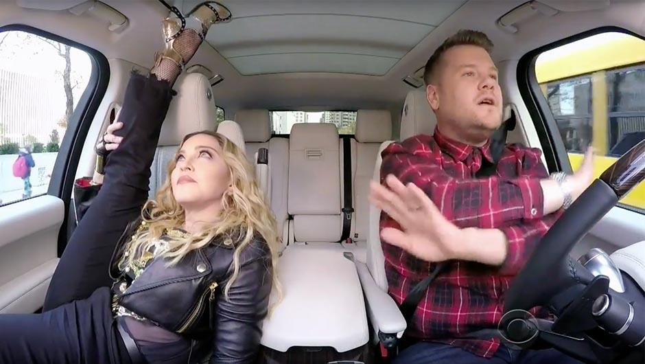 Fine Madonna Carpool Karaoke Shefinds Andrewgaddart Wooden Chair Designs For Living Room Andrewgaddartcom