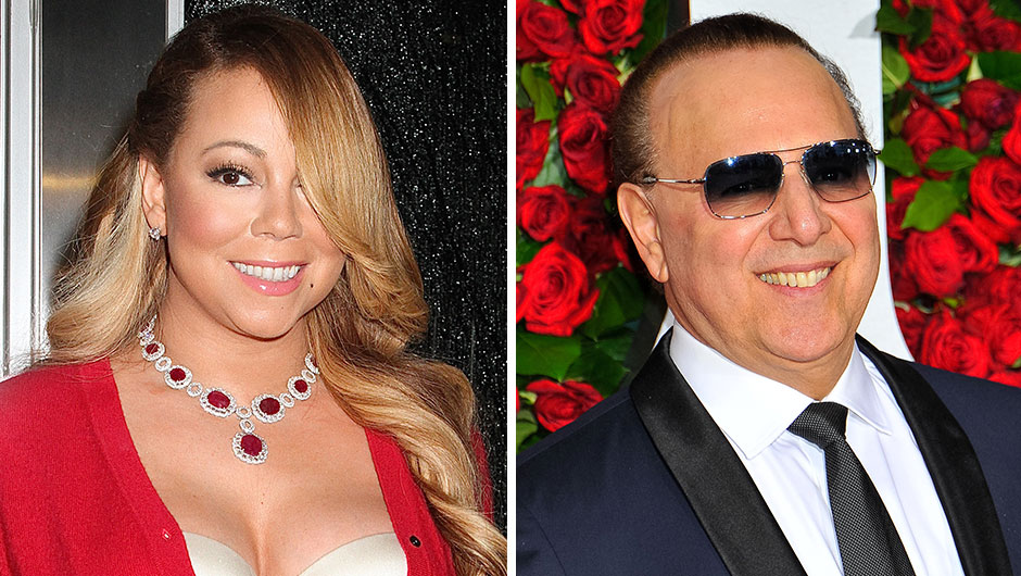 Mariah Carey And Her Ex-Husband And Former Manager, Tommy Mottola