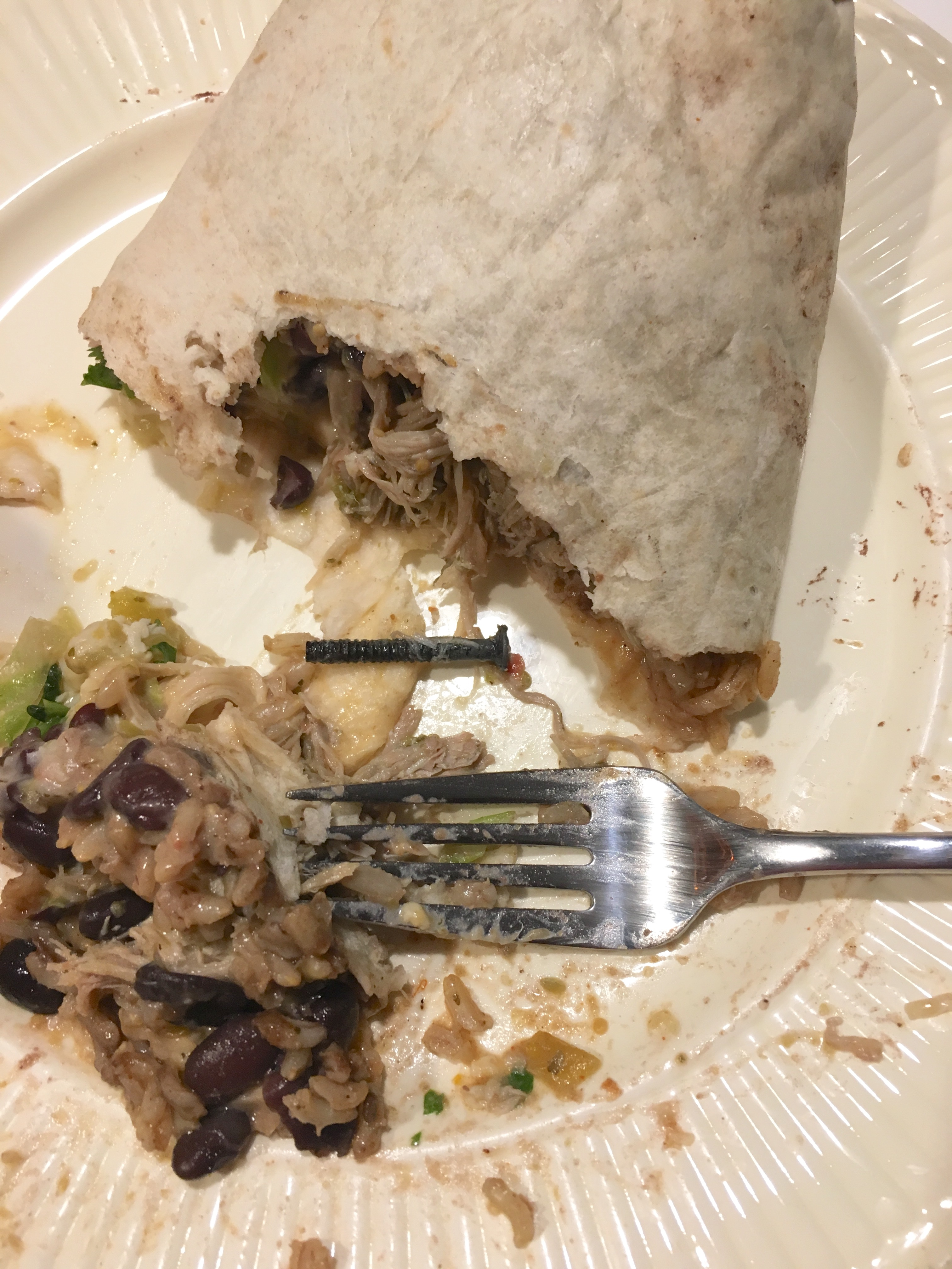 Burrito screw