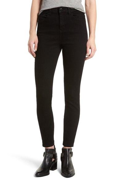 SP Black High Rise Skinny Jeans