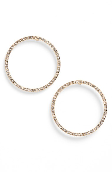 BP Crystal Circle Earrings