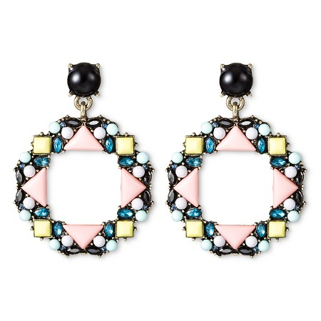 SUGARFIX by BaubleBar Beaded Geometric Drop Earrings