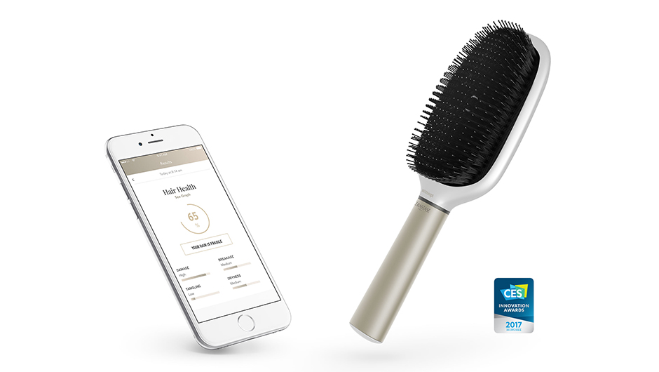 Hairbrush, iPhone Apps Gets A Psychical Report On Your Hair Health