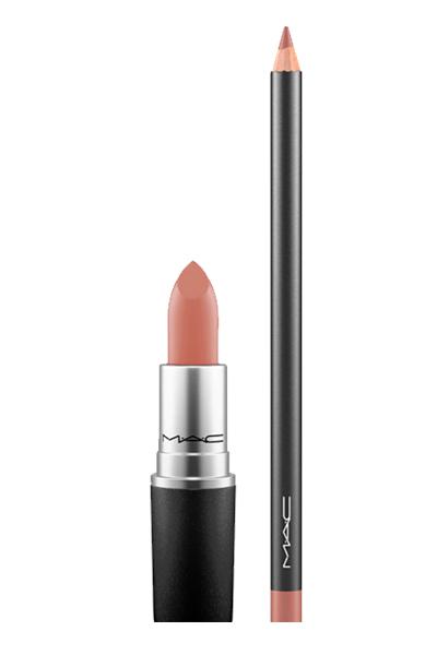 MAC Velvet Teddy Lipstick & Lip Pencil Duo