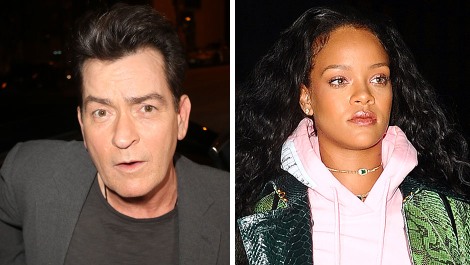 Charlie Sheen Talks Rihanna Feud