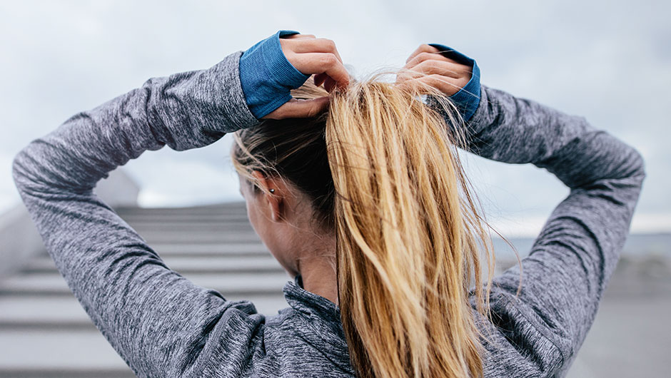 Hair ties are your best friend when it comes to working out or bad hair  days b386a06ef0e