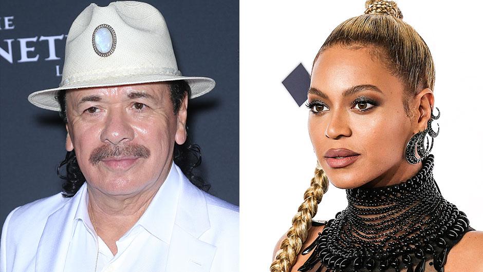 Carlos Santana Beyoncé