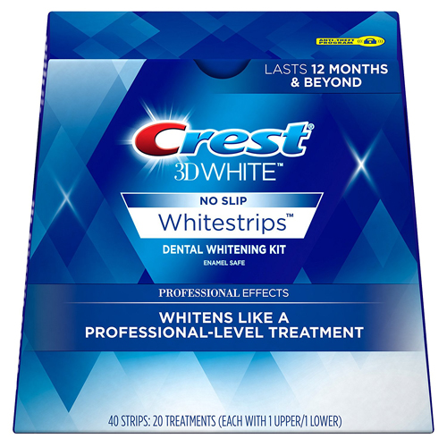 Crest 3D White Professional Effects Whitestrips Dental Whitening Kit
