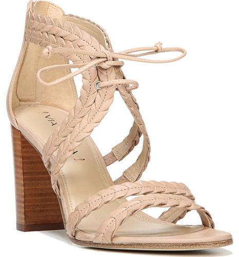 Via Spiga Gardenia Lace-Up Sandal