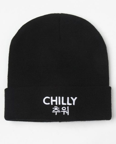 LA Hearts Chilly Graphic Beanie